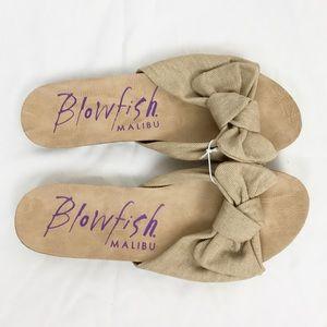 NEW WITHOUT TAG Blowfish Malibu Tie Sandals 7.5